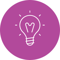 Creative Lightbulb Icon