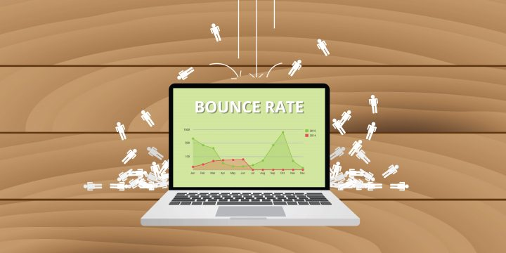 Bounce rate laptop