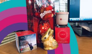 Clients Calm Candles and Walters Medical come together for Easter #LetsAllWorkTogether